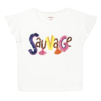 Vêtements Fille T-shirts manches courtes Catimini ENZO Blanc