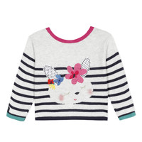 Vêtements Fille Gilets / Cardigans Catimini ALEXIA Blanc