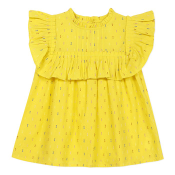 Vêtements Fille Tops / Blouses Catimini MAINA Jaune