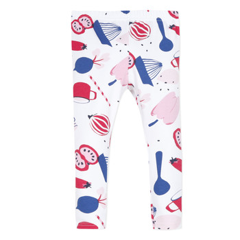 Vêtements Fille Leggings Catimini LEONTINE Blanc