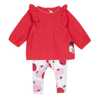 Vêtements Fille Ensembles enfant Catimini TAHYS Rouge