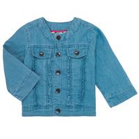 Vêtements Fille Blousons Catimini ELIOTT Bleu