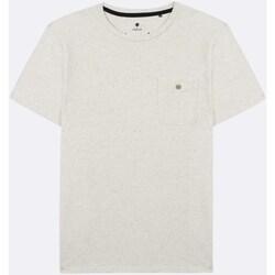 Vêtements T-shirts manches courtes Faguo Olonne Blanc