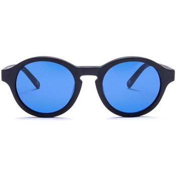 Montres & Bijoux Lunettes de soleil The Indian Face Valley Black / Blue Noir