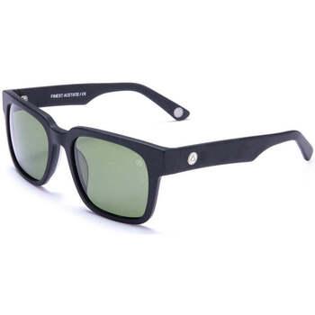 Montres & Bijoux Lunettes de soleil The Indian Face Hookipa Black / Green Noir