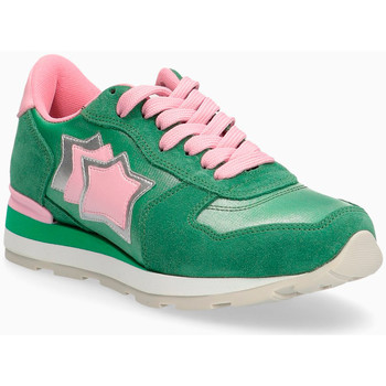 Chaussures Femme Baskets basses Atlantic Stars Sneakers in pelle scamosciata e tessuto