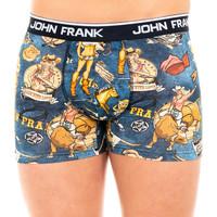 Sous-vêtements Homme Boxers John Frank Boxer Bleu