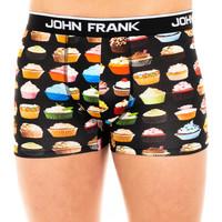 Sous-vêtements Homme Boxers John Frank Boxer Noir