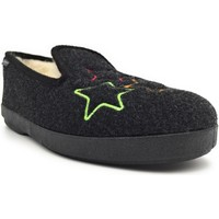Chaussures Femme Chaussons Fargeot GALAXIE Noir