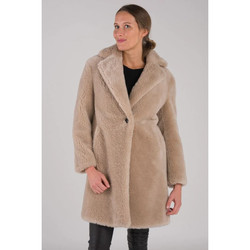 Vêtements Femme Manteaux Intuitions Paris FIRMA BEIGE Beige