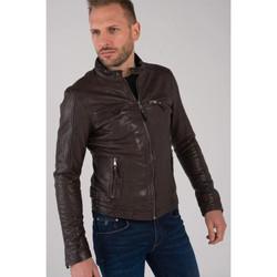 Vêtements Homme Vestes en cuir / synthétiques Cityzen KANSAS BROWN Marron
