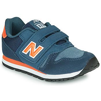 Chaussures Enfant Baskets basses New Balance YV373KN Bleu / Rouge