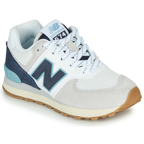 Chaussures Baskets basses New Balance PC574SOU Blanc / Bleu