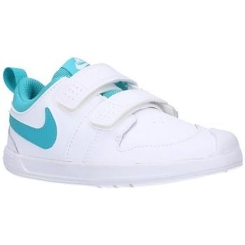 Chaussures Garçon Baskets basses Nike AR4162/4161 101 Niño Blanco blanc