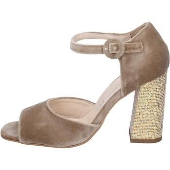 Chaussures Femme Sandales et Nu-pieds Olga Rubini sandales velours beige