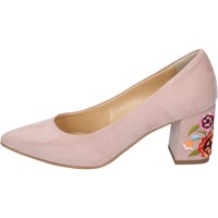 Chaussures Femme Escarpins Olga Rubini escarpins daim synthétique rose