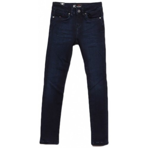 Vêtements Fille Jeans skinny Kaporal Jean fille Ena bleu night