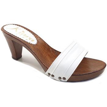 Chaussures Femme Mules Kiara Shoes K5104 Blanc