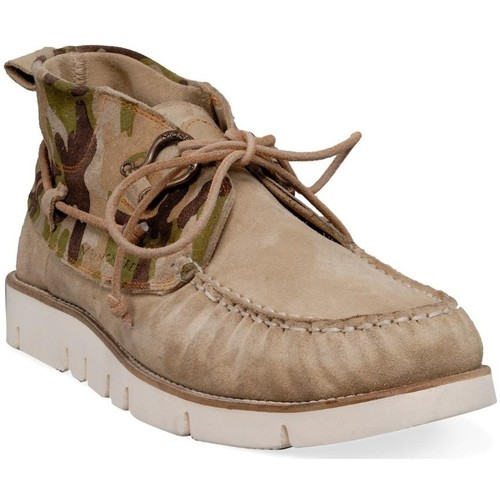 Chaussures Homme Mocassins M By Chaussures bateau vert