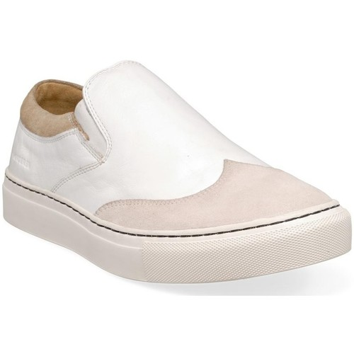 Chaussures Homme Slip ons M By Sneakers blanc
