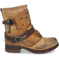 Chaussures Femme Bottines Benini 1094-PA Camel