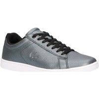 Chaussures Femme Baskets basses Lacoste 38SFA0011 CARNABY Negro