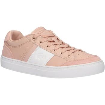 Chaussures Femme Baskets basses Lacoste 38CFA0050 COURTLINE Marr?n