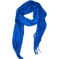 Accessoires textile Femme Echarpes / Etoles / Foulards Kebello Echarpe uni en Laine F Bleu Bleu