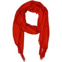 Accessoires textile Femme Echarpes / Etoles / Foulards Kebello Echarpe uni en Laine F Rouge Rouge