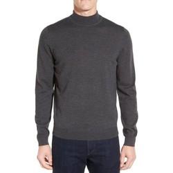 Vêtements Homme Pulls Kebello Pull en laine col cheminé Taille : H Gris M Gris