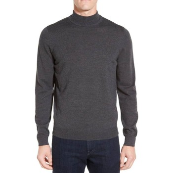 Vêtements Homme Pulls Kebello Pull en laine col cheminé H Gris Gris