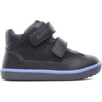 Chaussures Garçon Baskets montantes Camper Bottines cuir Pelotas Persil FW bleu
