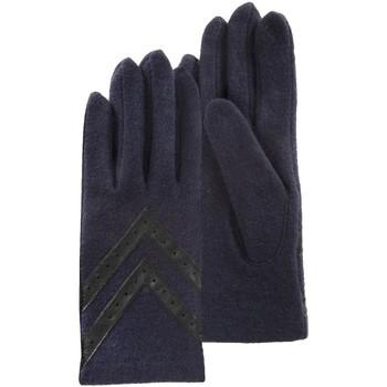 Accessoires textile Femme Gants Isotoner Gants femme  ref_48022 Marine bleu