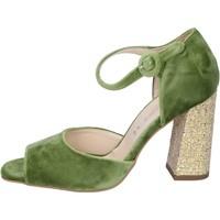 Chaussures Femme Sandales et Nu-pieds Olga Rubini sandales velours vert