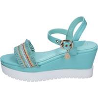 Chaussures Femme Sandales et Nu-pieds Enrico Coveri sandales cuir synthétique bleu clair