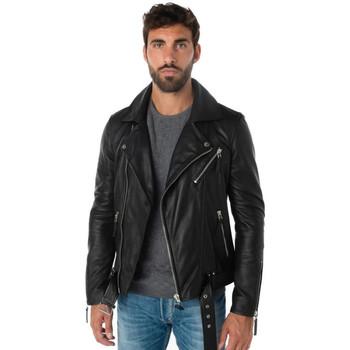 Vêtements Homme Vestes en cuir / synthétiques Cityzen ORION 2 BLACK Noir