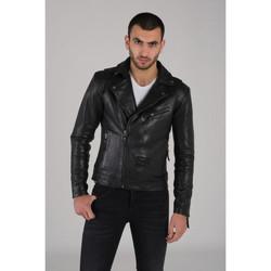 Vêtements Homme Vestes en cuir / synthétiques Cityzen AKRON 2 BLACK Noir