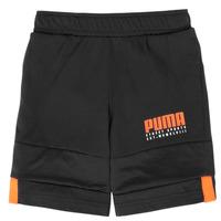 Vêtements Garçon Shorts / Bermudas Puma ALPHA JERSEY SHORT Noir