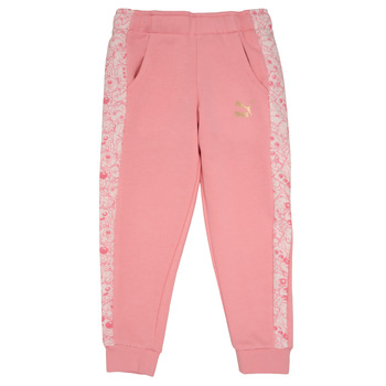 Vêtements Fille Pantalons de survêtement Puma MONSTER SWEAT PANT GIRL Rose