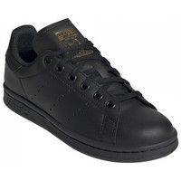 Chaussures Baskets basses adidas Originals Basket  STAN SMITH J - EF4914 NOIR