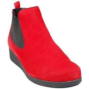 Chaussures Femme Boots Hirica Boots Boreale Rouge Rouge