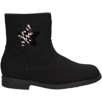 Chaussures Fille Bottes Happy Bee B179780-B4600 Negro