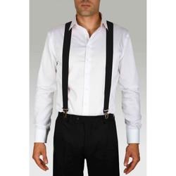 Vêtements Homme Cravates et accessoires Kebello Bretelles extensibles à clips Taille : H Noir Taille unique Noir