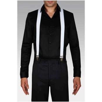 Vêtements Homme Cravates et accessoires Kebello Bretelles H Blanc Blanc