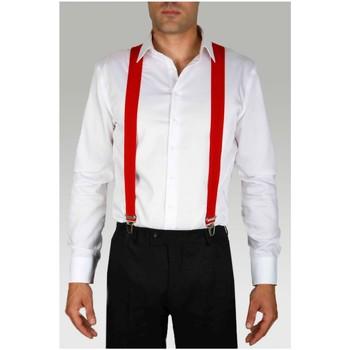 Vêtements Homme Cravates et accessoires Kebello Bretelles extensibles à clips H Rouge Rouge