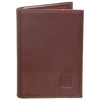 Sacs Homme Portefeuilles Hexagona Porte-cartes  en cuir ref_47999 Cognac 9*12*2 marron