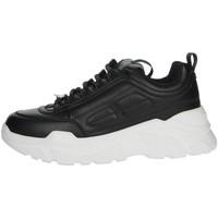 Chaussures Femme Baskets montantes Pregunta MCD001 Noir