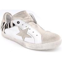 Chaussures Femme Baskets basses B-Essential skinny blanc