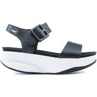 Chaussures Femme Sandales et Nu-pieds Mbt MANNI SANDALES 2 BLACK NAPPA
