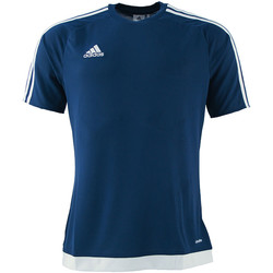 Vêtements Garçon T-shirts & Polos adidas Originals - T-shirt blu S16150 J BLU